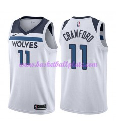 Minnesota Timberwolves Trikot Herren 2018-19 Jamal Crawford 11# Association Edition Basketball Triko..